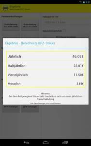 Hubraum Berechnen : kfz steuer rechner pro android apps on google play ~ Themetempest.com Abrechnung