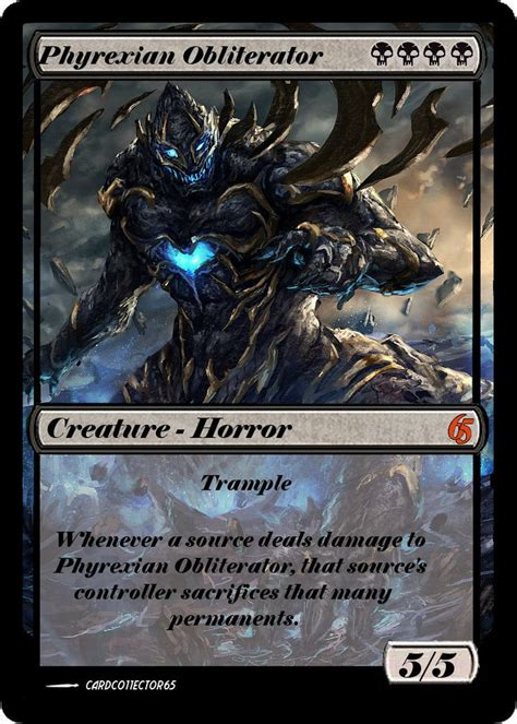 phyrexian obliterator deck ideas 608 best mtg images on cards magic cards