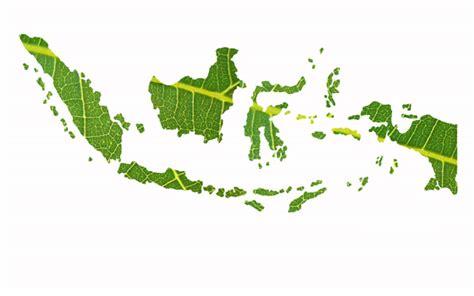 menggunakan tekstur daun  membuat wallpaper indonesia