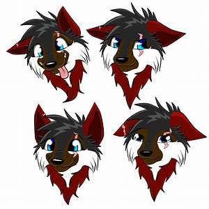 Chakuras Face Expressions by Chakura-Tomboy-Wolf on DeviantArt