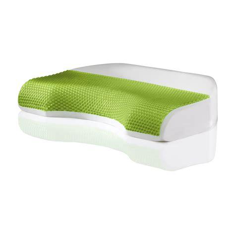 memory foam pillow comfort revolution 174 cove gel memory foam bed pillow