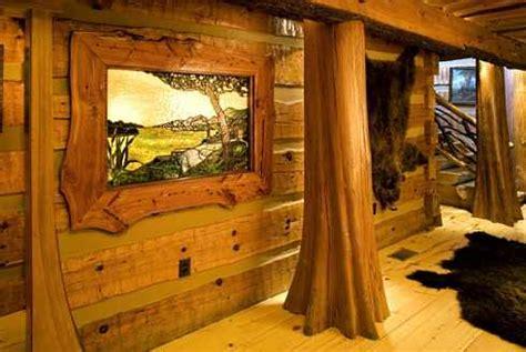 log cabin home plans  spectacular hunters haven