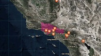 List and Map: Where Southern California Wildfires Are ...