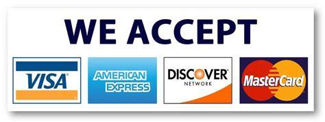 pack credit card sign visa mastercard amex discover