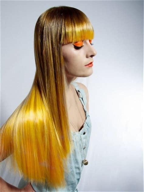 cool multi chromatic hair color ideas  fall