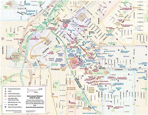 map  denver map denver  colorado usa