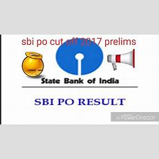 Sbi Po Pre Exam Result And Cutoff Youtube