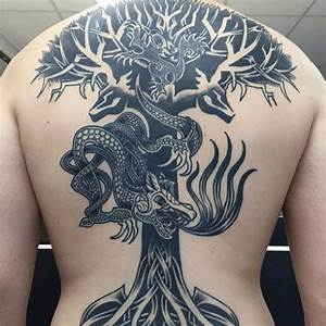 Tatouage Loup Celtique : viking tattoo nordic kraft tattoo ideen ~ Farleysfitness.com Idées de Décoration