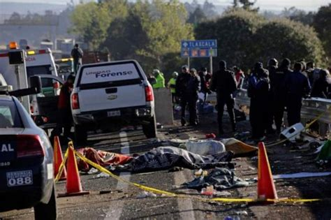 Ten People Die After Car Crash In Southwest Mexico