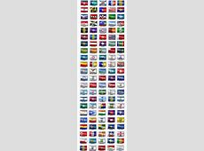 110 Famous City Flag Icons GraphicRiver