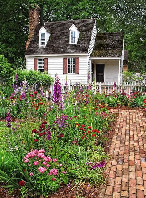 cottage and flowers tiny homes cottages