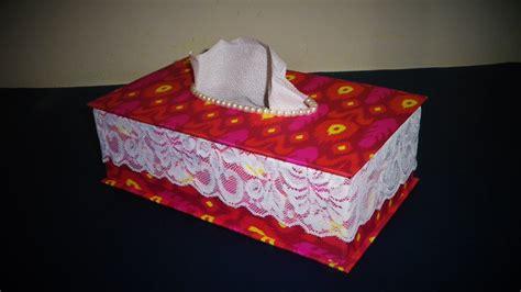 diy easy tissue box   paper lase pearl step