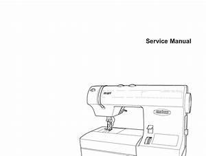 Pfaff Select 1520  1530  1540 Sewing Machine Service And