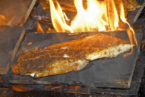 shaggys cedar plank redfish recipe outdoorhub