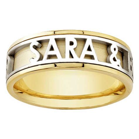 14k Yellow Gold Name Personalized Band6mm 3003515  Shop. Flashy Wedding Rings. Monica Friend Engagement Rings. Celebrity Fashion Rings. Gift Engagement Rings. Carved Rings. Price Rings. Woman Design Wedding Rings. Surrounded Engagement Rings