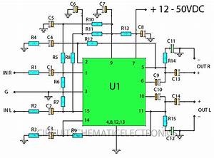 Stereo 30w Stk Ics Amplifier Circuit  U2013 Circuit Wiring Diagrams