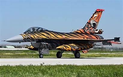 Fighter Jet 16c Aircraft Fighting Falcon Widescreen