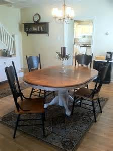 25 best ideas about oak table and chairs on painted oak table refinished table and