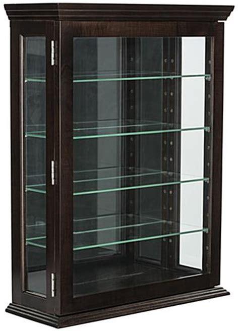 espresso curio cabinet affordable espresso curio cabinet 4 adjustable glass shelves