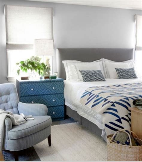 blue gray decor blue and gray rustic decor bedroom just decorate