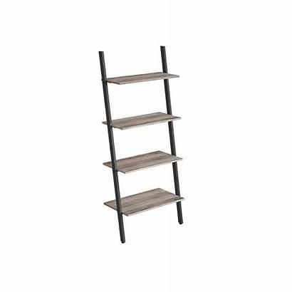 Tier Shelf Sloping Living Shelving Furniture
