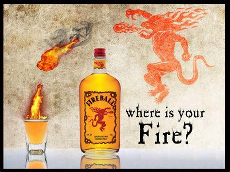 Fireball Whisky Wallpaper
