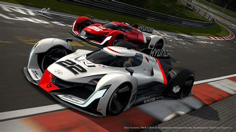 hyundai joins playstations vision gran turismo  hp