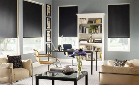 Blackout Shade Options Are Ideal For Media Rooms, Bedrooms