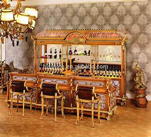 Luxury French Style Baroque Home Bar Furniture/European ...