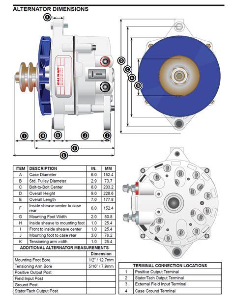 balmar 94ly 210 12 ig large alternator for yanmar 6ly