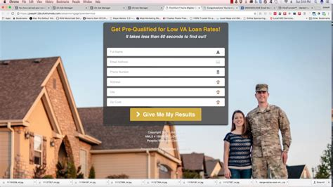 Va Home Loan Facebook Ads Demo