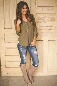 Khaki Plain Irregular V-neck Long Sleeve Sexy Casual Fashion Blouse - Blouses - Tops | Fall ...