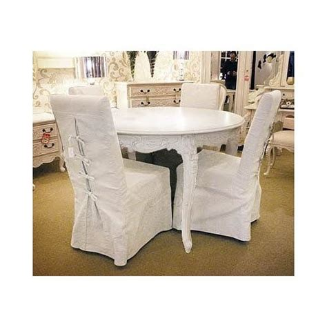 shabby chic dining chair slipcovers pin by kimberliev cooke on house and home
