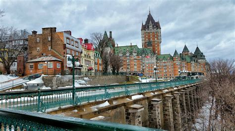 Quebec City For Christmas Justin Goes Places