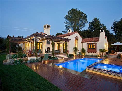 Modern Ranch Style Hope Ranch Spanish Style Custom Home