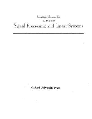 Solution Manual Electronic Circuit Analysis Design