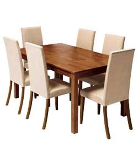 kingston walnut dining table and 6 mink chairs review