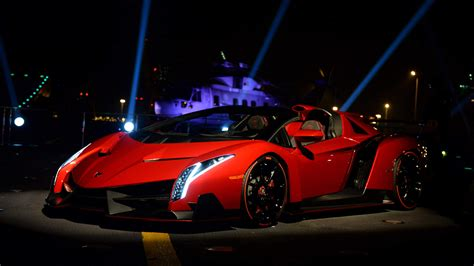 9 Lamborghini Veneno Roadster Fonds D'écran Hd