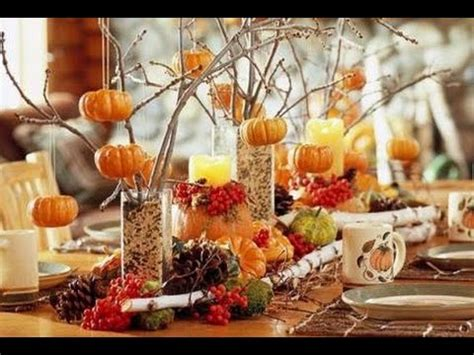 Simple Fall Table Decorations Youtube