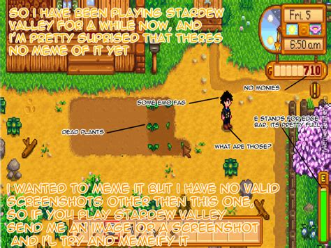 Stardew Valley Memes - anyone out there playing stardew valley by recyclebin meme center