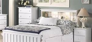 Classic, White, Bedroom, Furniture
