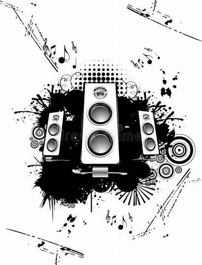 Speakers Vector Abstract Dreamstime Circles Curves Illustration