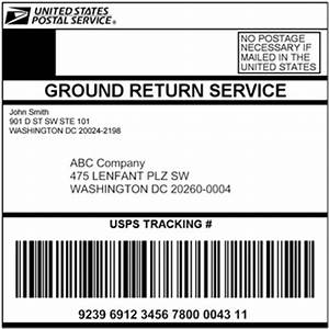 pre paid return label With how to get prepaid shipping label usps