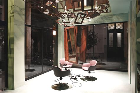 bureau de change design funky athens hair salon designed with a twist 171 adelto adelto