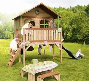 Maisonnette En Bois Sur Pilotis : cabane d 39 enfant en bois sophie maisonnette en bois sur ~ Dailycaller-alerts.com Idées de Décoration