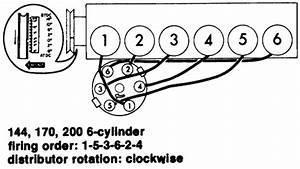 Firing Order Inline 6 Ford