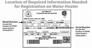 Register Your Whirlpool U00ae Water Heater