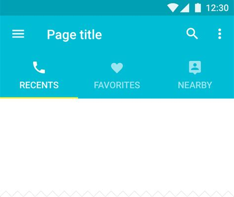 how to tabs on android phone android what is the best way to implement icon based