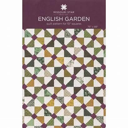 Garden Quilt Pattern English Missouri Patterns Squares