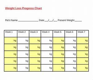 Puppy Weight Chart Template